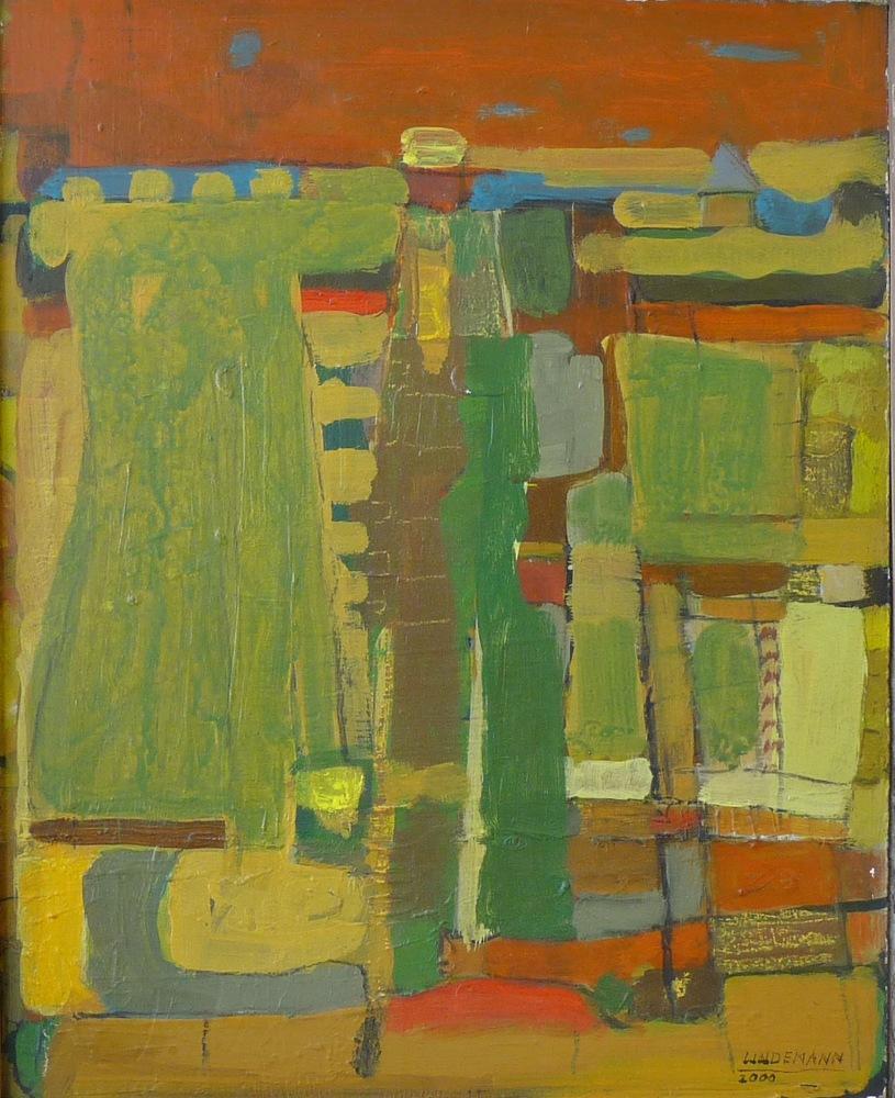 Rolf Lindemann:Landschaft VII