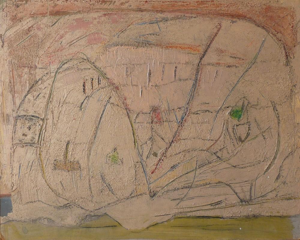 Rolf Lindemann:Landschaft VIII