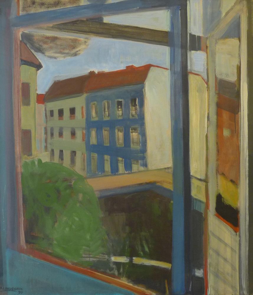 Rolf Lindemann:Mein Atelierfenster