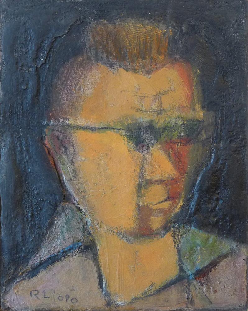 Rolf Lindemann:Kopf mit Brille