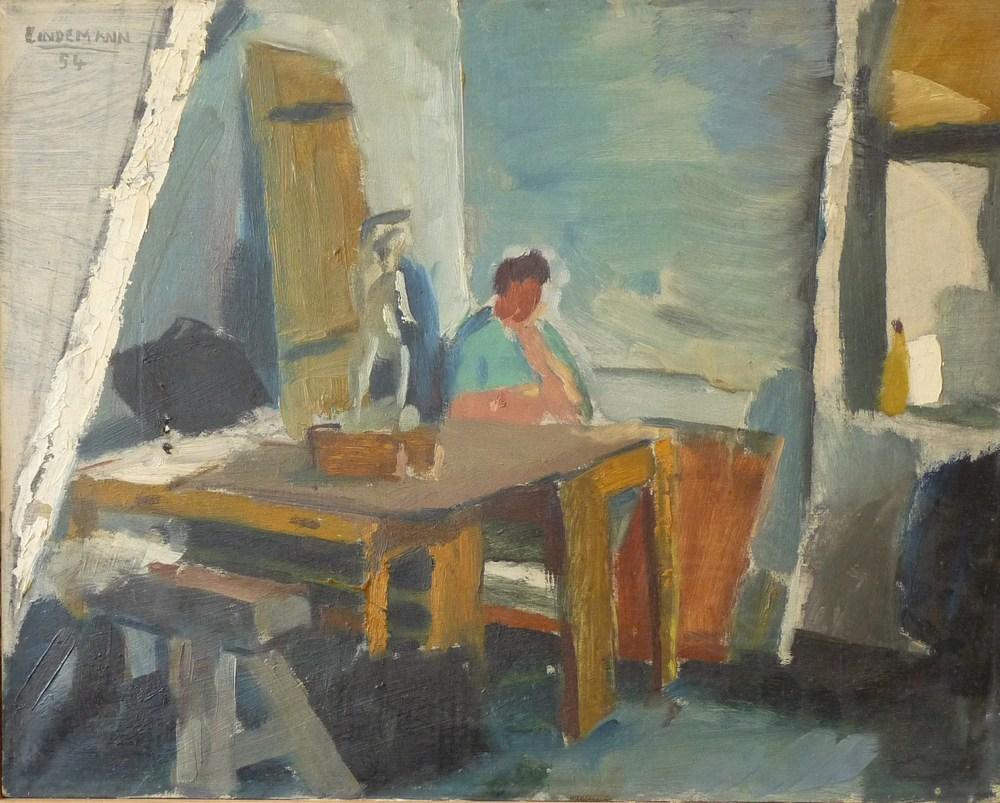 Rolf Lindemann:Atelier in der Schule