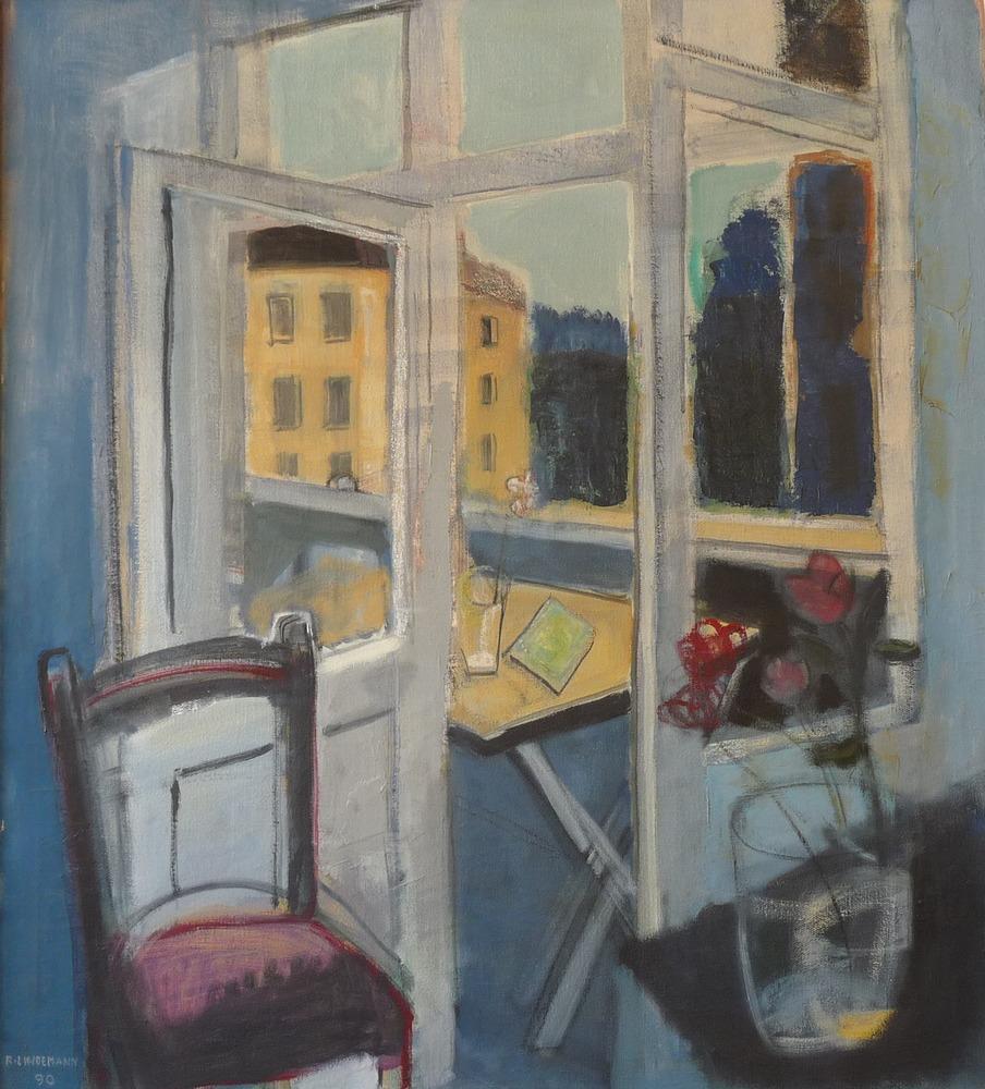 Rolf Lindemann:Balkon
