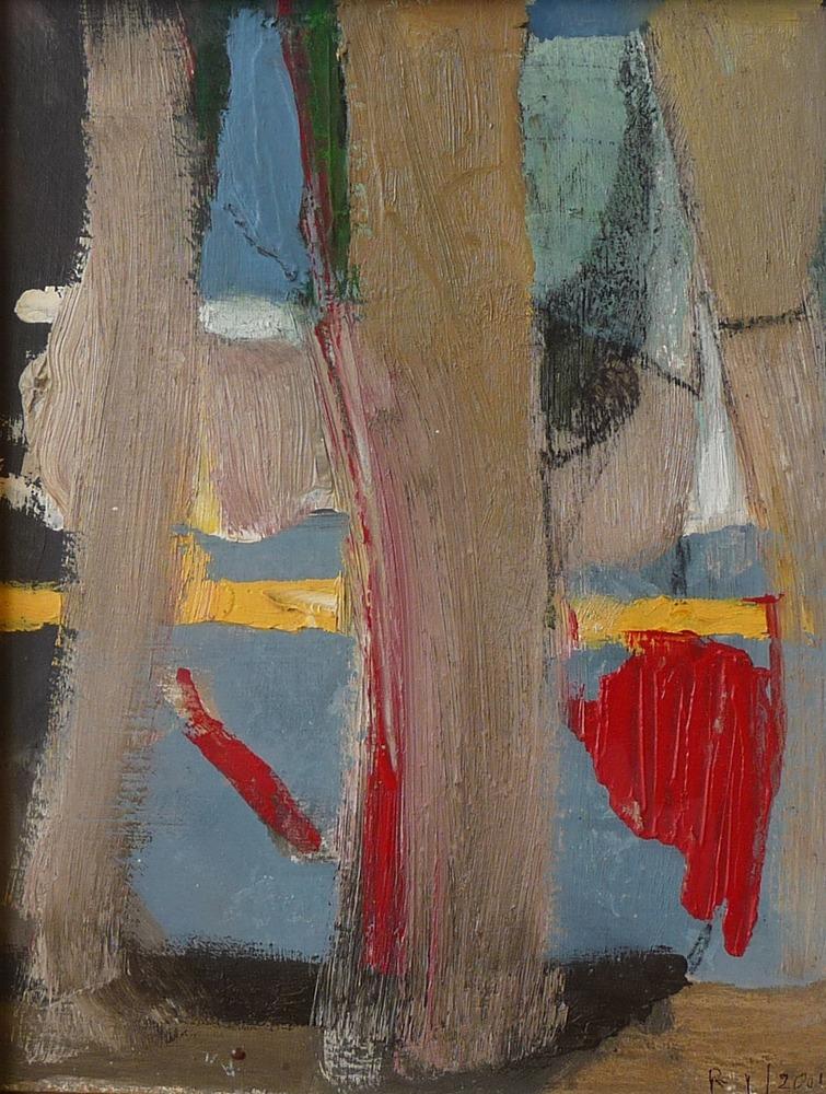 Rolf Lindemann:Bäume am Fenster