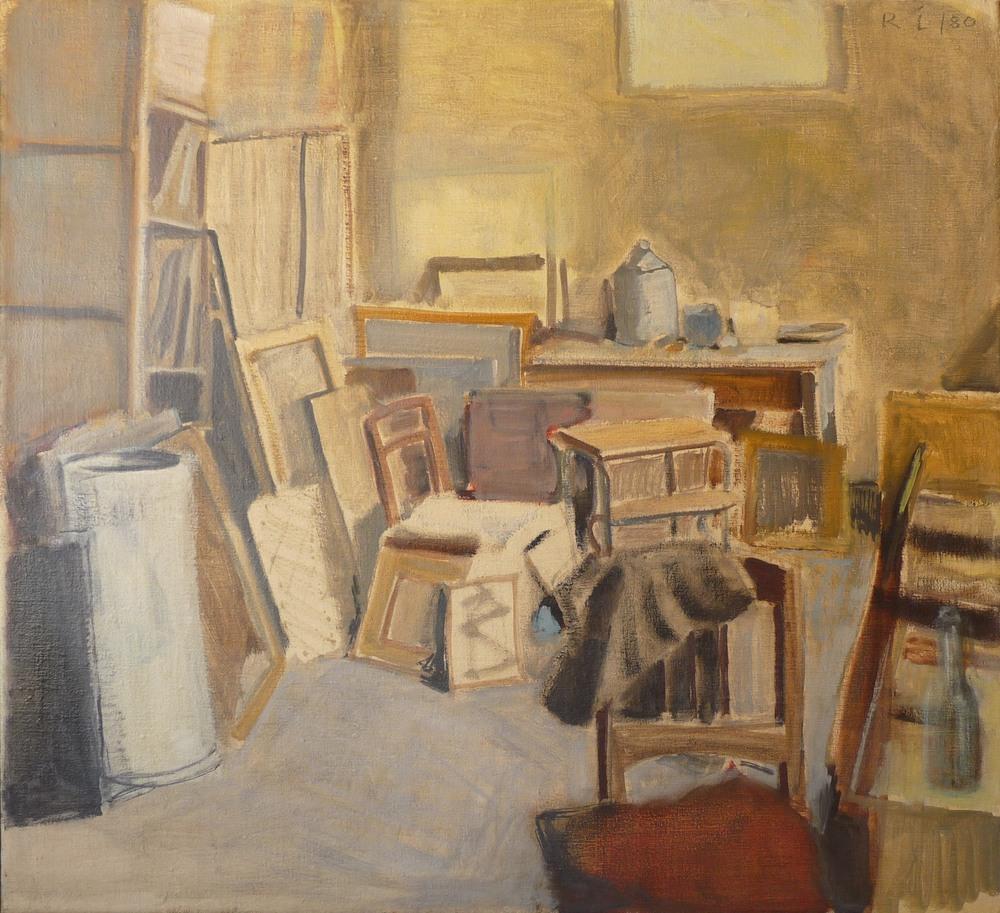 Rolf Lindemann:Mein Atelier