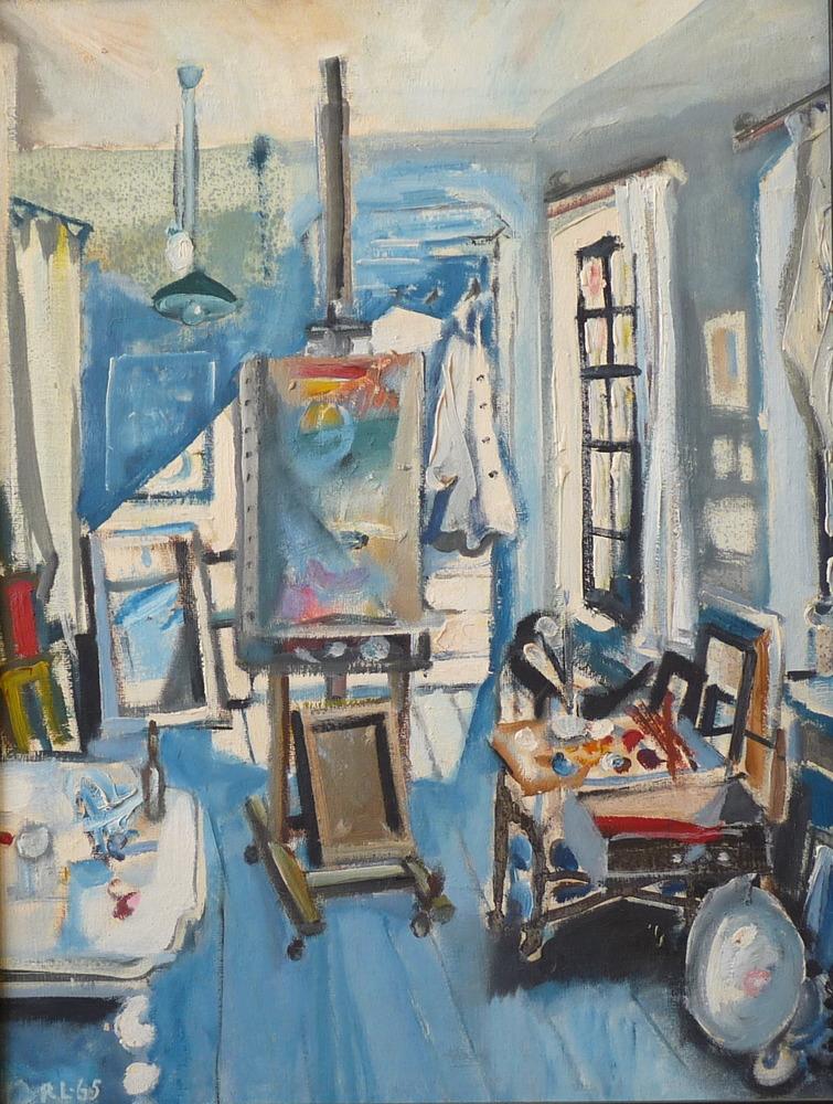 Rolf Lindemann:Atelier