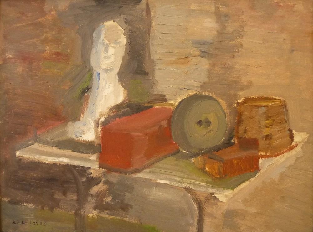 Rolf Lindemann:Bildhaueratelier