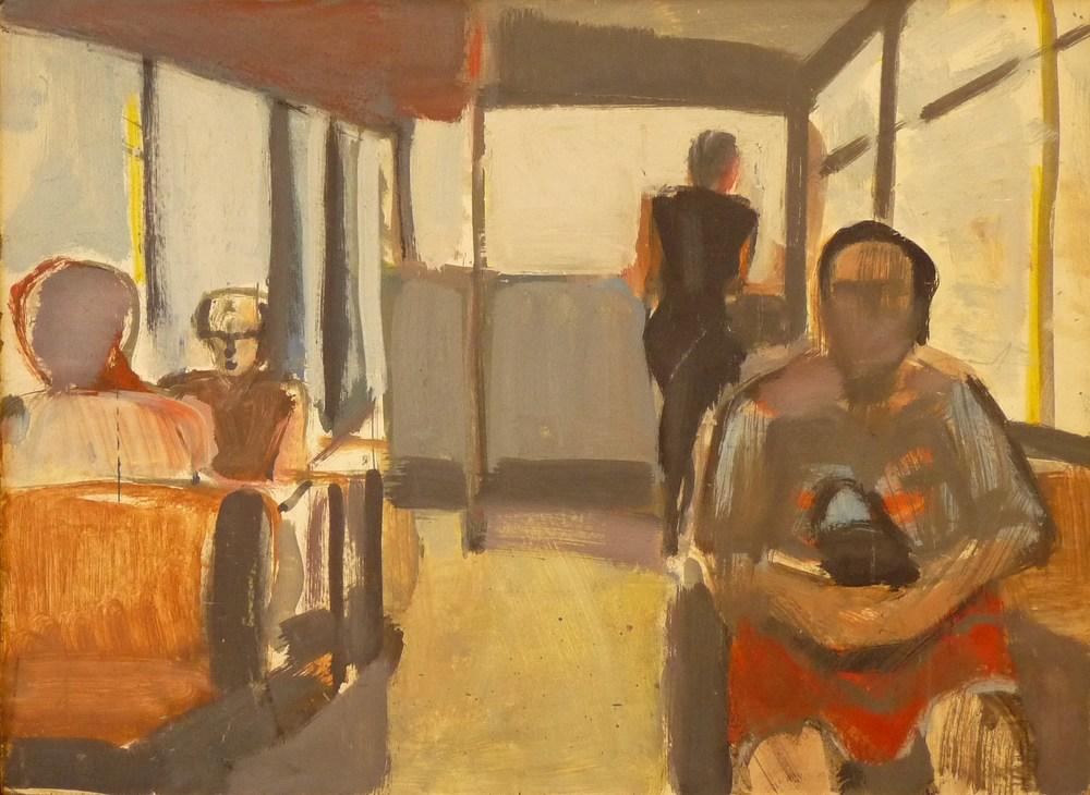 Rolf Lindemann:Im Bus