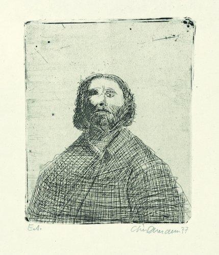 Rolf Lindemann:Mann mit langem Haar